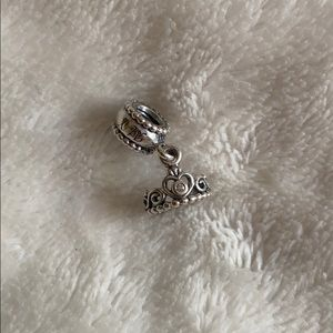 Pandora Princess Tiara Crown Dangle Charm